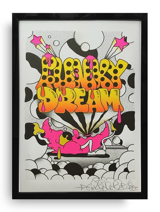 Keno PAL sérigraphie Funky Dream