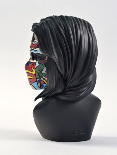 Sculpture sandra chevrier dos original black edition