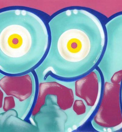 Seen classic bubble blue eyes flop graffiti