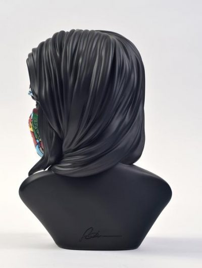 sculpture sandra chevrier dos 2 original black edition
