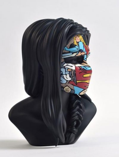 sculpture sandra chevrier original black edition côté