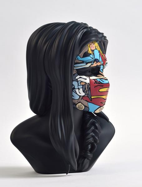sculpture sandra chevrier original black edition côté