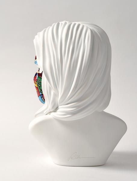 sculpture sandra chevrier original white cote