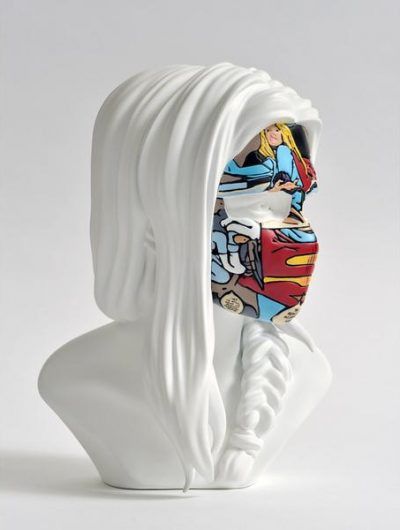 sculpture sandra chevrier original white cover
