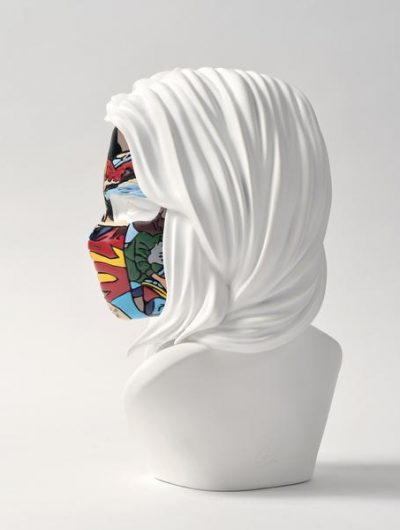 sculpture sandra chevrier original white dos