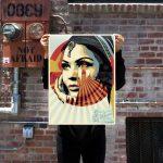 target exception édition signée numérotée obey street
