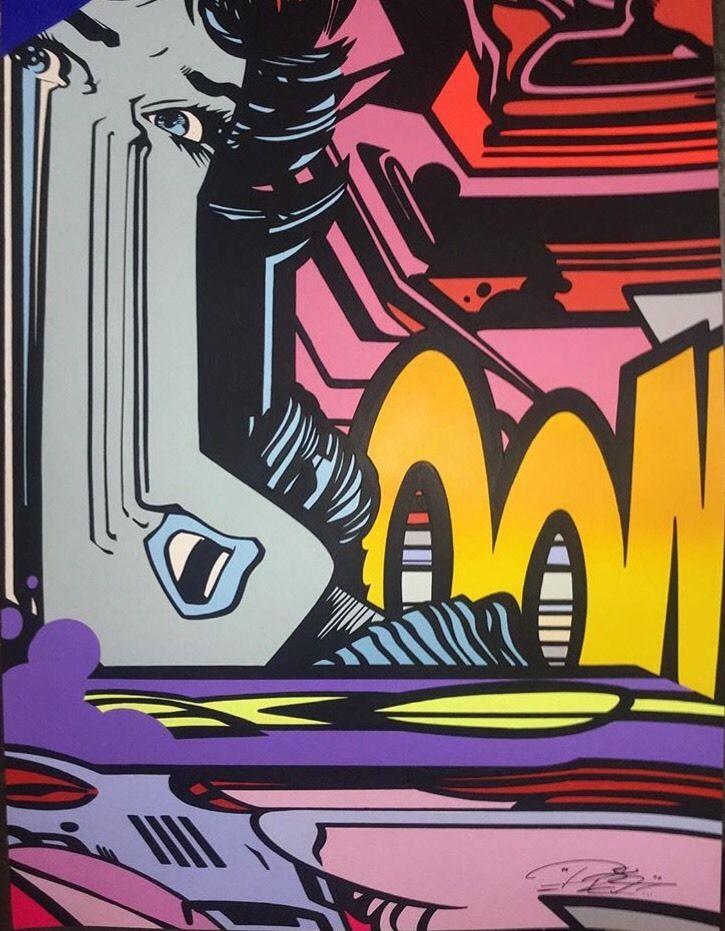 untiteled pro 176 artiste graffeur oeuvre sur papier