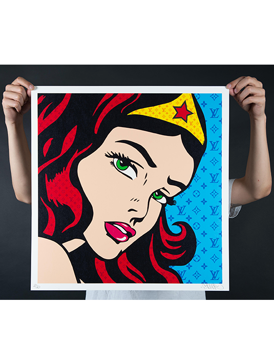 wonder woman rouge gomor édition